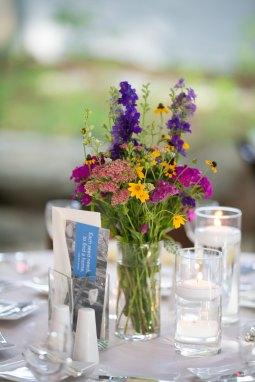 Elegant garden party florals