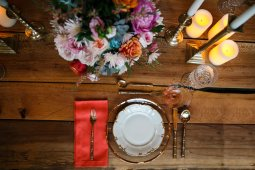 Vintage Charm comes to life in this table setting